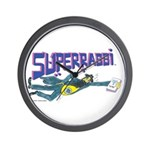Superrabbi(super Rabb)- Jewish/israeli Wall Clock