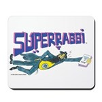 Superrabbi (super Rabbi) Mousepad