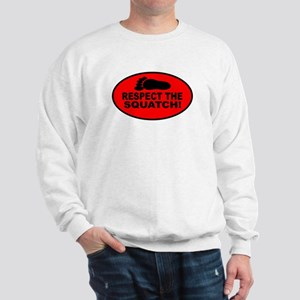 Red RESPECT THE SQUATCH! Sweatshirt