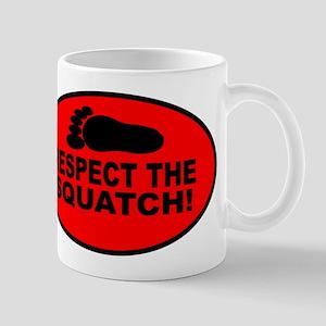 Red RESPECT THE SQUATCH! Mug
