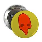 SKULL 001 GREEN Button