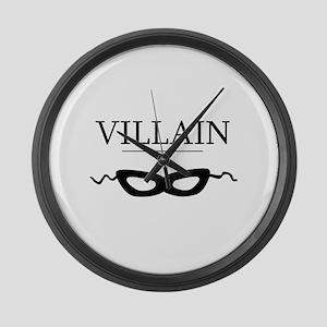 villaincards Large Wall Clock