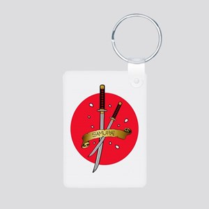 Sakura Samurai Aluminum Photo Keychain