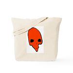 SKULL 001 RED Tote Bag