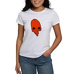 SKULL 001 RED Women's T-Shirt