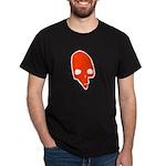 SKULL 001 RED Dark T-Shirt