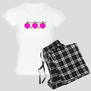 Cute Pumpkins Women's Light Pajamas