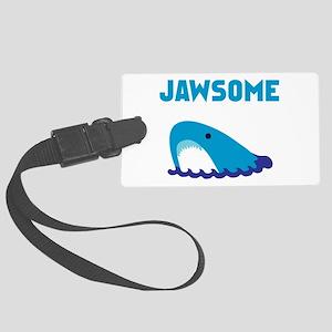 Jawsome Shark Large Luggage Tag