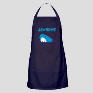Jawsome Shark Apron (dark)