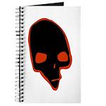SKULL 001 RED Journal