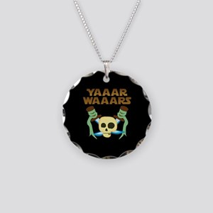 Yaaar Wars Pirate Necklace Circle Charm