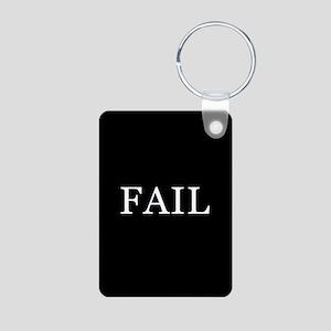 FAIL Aluminum Photo Keychain