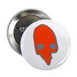 SKULL 001 RED Button