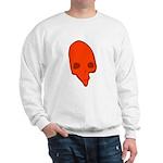 SKULL 001 RED Sweatshirt