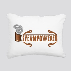 Steampowered Rectangular Canvas Pillow
