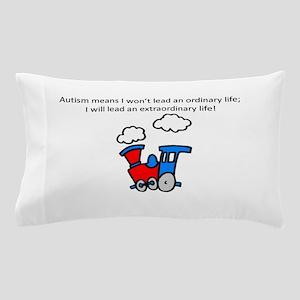 Autism train Pillow Case