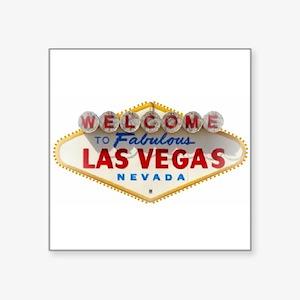 Las Vegas Rectangle Sticker