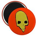 SKULL 001 RED Magnet