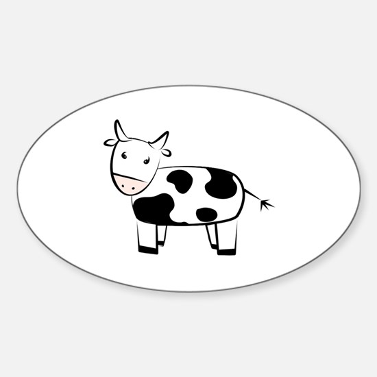 Northfield Carpool Cow Decal