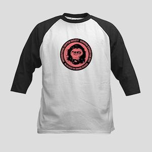 Orang Pendek - Asia's Bigfoot Kids Baseball Jersey