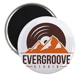 "2.25"" Magnet (10 pack) w/ Evergroove Logo"