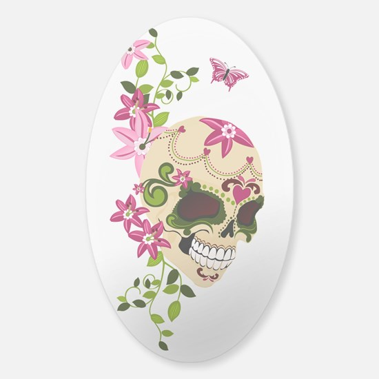 SugarSkullStargazersTall Decal