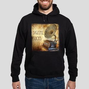 Digital Sucks! Hoodie (dark)