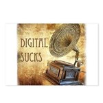 Digital Sucks! Postcards (Package of 8)