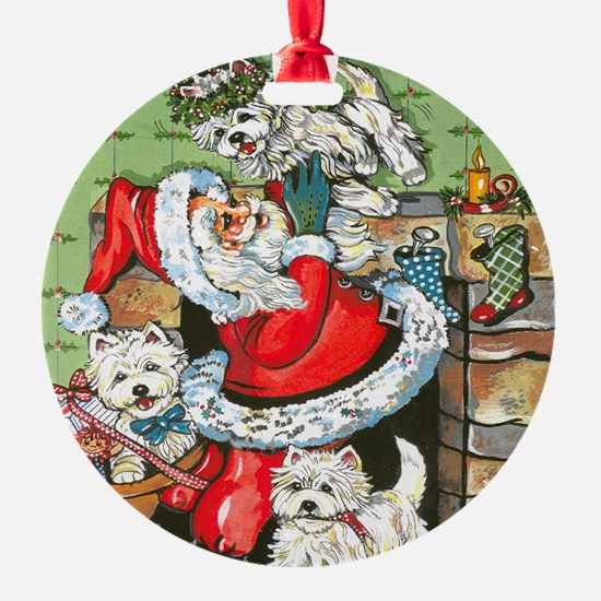 Santa's Little Helpers Ornament