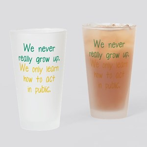 Growing Up Drinking Glass
