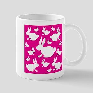 Bunny Rabbit Pattern Mug
