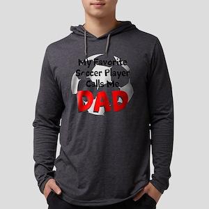 Favorite Soccer Player Mens Hooded Shirt