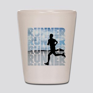 runner Shot Glass