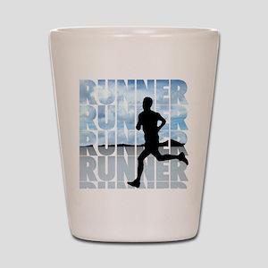 runner Shot Glass