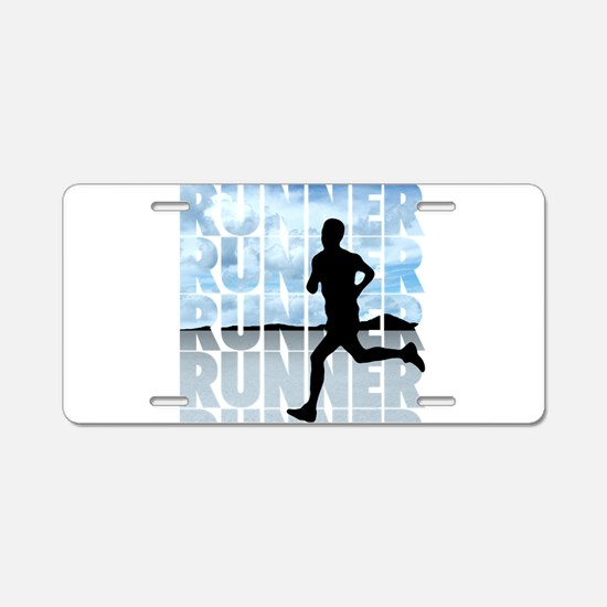 runner.png Aluminum License Plate