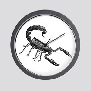 Scorpion Wall Clock