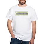 E.T. on Bull Logo White T-Shirt