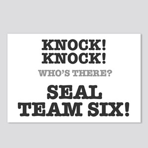 KNOCK KNOCK - SEAL TEAM S Postcards (Package of 8)