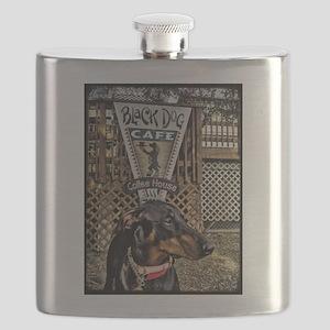Black Dog Cafe II Flask