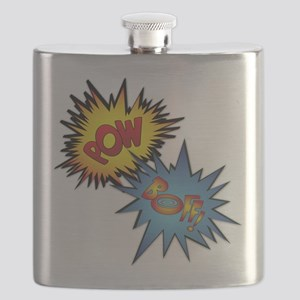 Pow And Boff Flask
