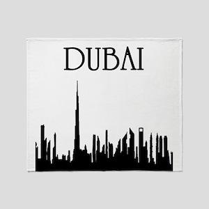 Dubai Throw Blanket