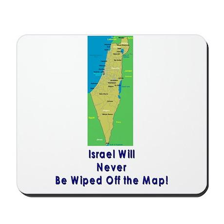 Israel Map Forever Mousepad