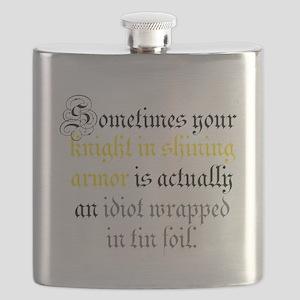 Knight in Tin Foil Flask