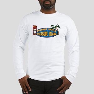 Coconut Pete's Pleasure Islan Long Sleeve T-Shirt