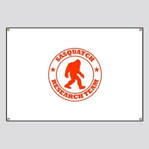 Sasquatch Research Team Banner