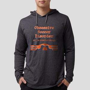 Obsessive Soccer Mens Hooded Shirt