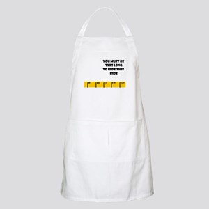 Ruler Long to Ride side BBQ Apron