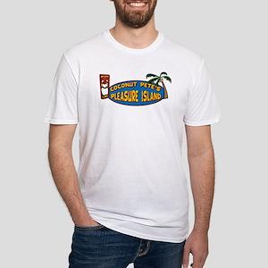 Coconut Pete's Pleasure Islan Fitted T-Shirt