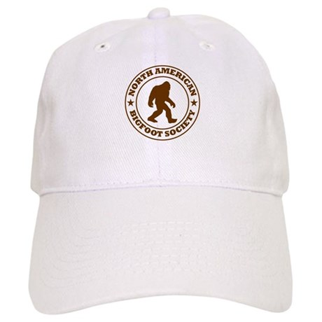 N. American Bigfoot Society Baseball Cap by LifeguardShack d3e74f0cb0c6