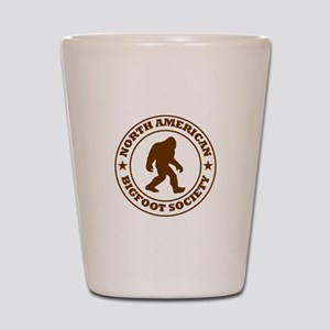 N. American Bigfoot Society Shot Glass